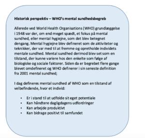 mental sundhed definition
